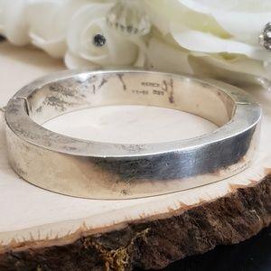 Jewelry - Heavy Chunky Sterling Silver Taxco Mexico Bracelet